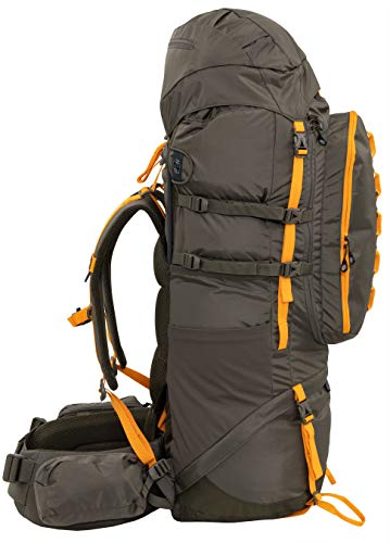 ALPS Mountaineering Cascade Internal Frame Backpack 90L, Clay/Apricot