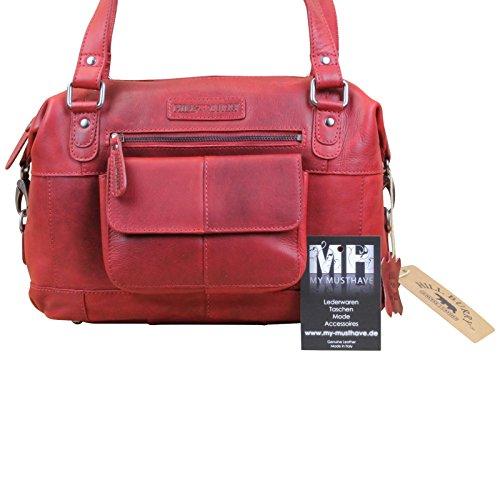 My-Musthave, Borsa a spalla donna Marrone tonalità di marrone Medio Rot