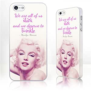 New Famous Person Sexy Marilyn Monroe Quotes&saying Hepburn Cases Cover for Iphone 5c/ 5c