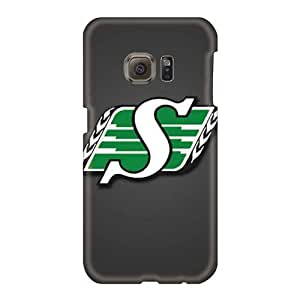 Shock-Absorbing Hard Phone Covers For Samsung Galaxy S6 With Customized High-definition Saskatchewan Roughriders Pictures TrevorBahri
