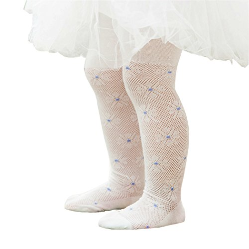 76c5be55b1289  インソミラ  InSomila 子供用編みタイツ 網タイツ 花柄 子供ドレス用 女の子