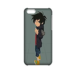 LJF phone case Printing With Big Hero For Apple 5C Iphone Cute Phone Cases For Women Choose Design 1-7