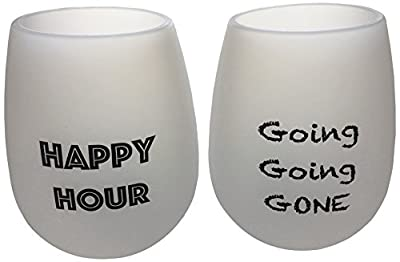2 Wine Glasses Unbreakable Food Grade Silicone Funny and Durable Shatterproof Stemless Also Great for Beer Whiskey Cocktails or any other Beverage Take Anywhere Outdoors Pool Camping Beach
