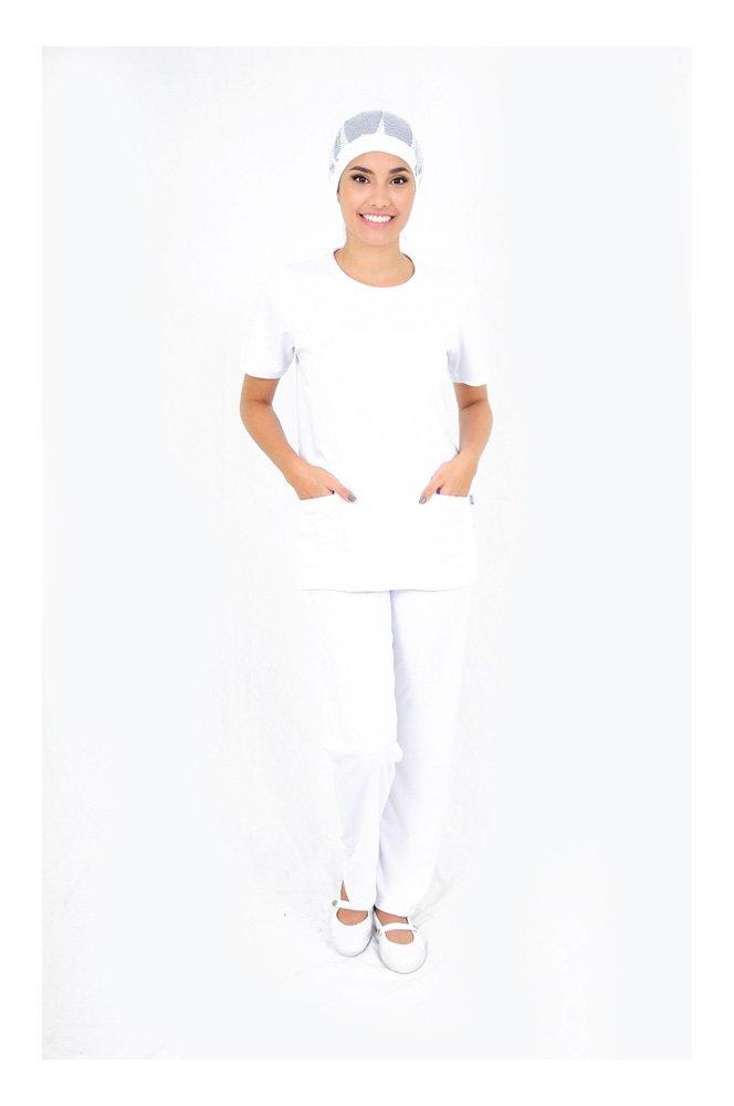 DAM Uniforms APPAREL レディース B01CWMDJAQ M ホワイト ホワイト M