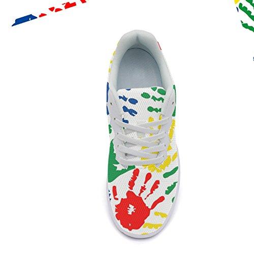Ddkafjfj Dyr Giraf Print Mønster Kvinders Supra Basketball Sneakers Letvægts Breathabl Basketball Sko Color4 G5O2t