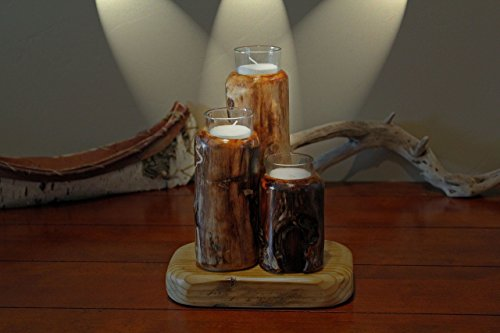 Snake River Votive Candle Holder For Sale
