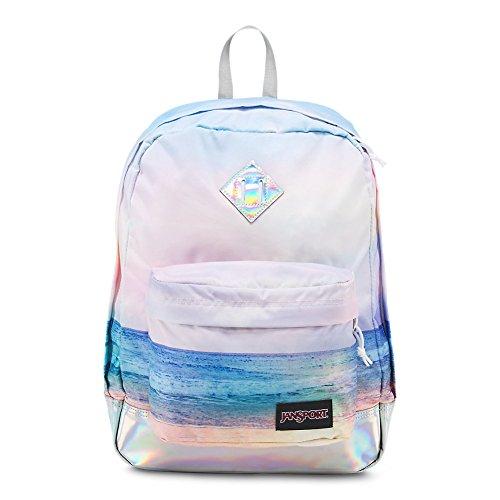 Jansport Girls Backpack - JanSport Super FX Backpack - Multi Sunrise