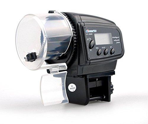 SportsMax Digital LCD Timer Automatic Fish Feeder Aquarium Tank Pond (Medium, 2009D) by SportsMax