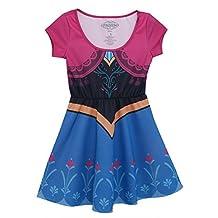 Disney Frozen I Am Anna Juniors Retro Skater Dress