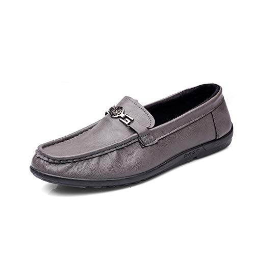 Cloth EU 39 Casual Old Nero Espadrillas Soft antiscivolo Mens Suola Grigio Colore Beijing Dimensione Buckle piatta Shoes Qiusa qaIxZw