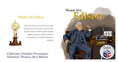 e0a0936c51f THOMAS ALVA EDISON: GRANDES PERSONAJES (Spanish Edition) by [CUCO CMPANY  AMERICA CORP