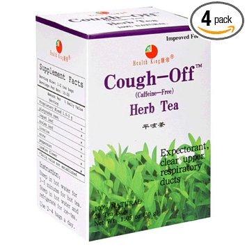 Health King Cough-Off Herb Tea 20 Tea Bags