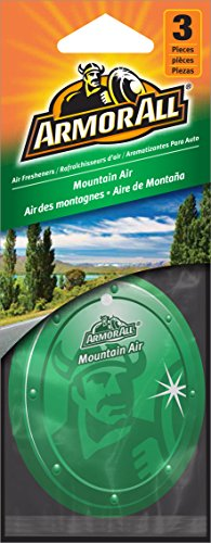 Armor All 17795 Hanging Air Freshener, Mountain Air Scent - 24 Pack