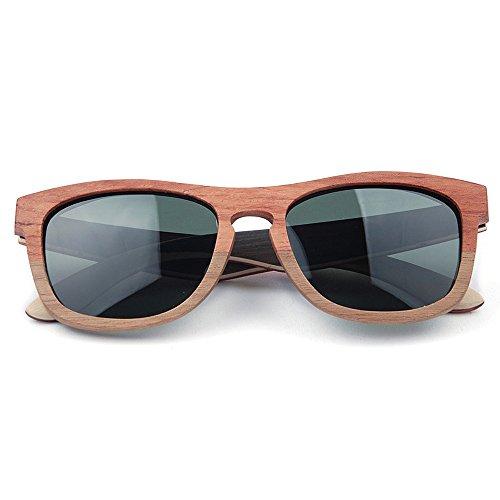 de hombre de hechas a alta Gafas del la Gafas marrón de Ultra TAC retro de color hombres mano para madera los de de lente sol calidad sol de de conducción ULTRAVIOLETA Gafas polarizadas de sol ligero EqTBawf