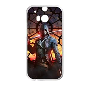 Assassin'S Creed Unity HTC One M8 Cell Phone Case White present pp001_9753018