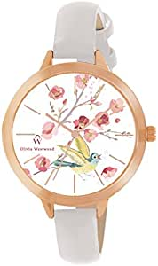 Olivia Westwood Women's Multicolour Dial Leather Band Watch - BOW10022-808