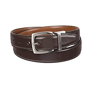 Dockers Big Boys' Braided Reversible Belt