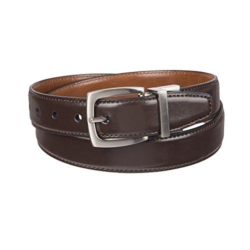 Dockers Big Boy's Dockers Reversible Black-to-Brown Belt , brown/tan, Meduim (26-28 Inches)