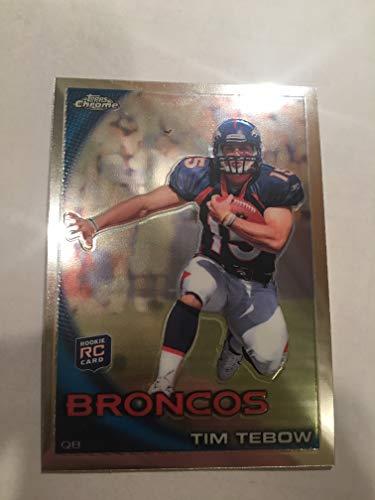 (Tim Tebow (Football Card) 2010 Topps Chrome BC100)