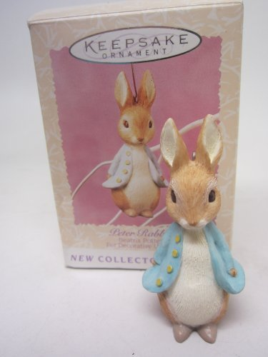 Beatrix Potter Easter Peter Rabbit Keepsake Hanging Ornament 1996 First in Collector's Series