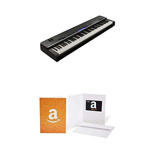 Yamaha CP4 Stage Piano with Natural Wood Keys and Sustain Pedal with $250 Amazon.com Gift Card ()