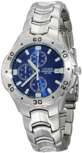 Citizen Men's AN0950-53L Chronograph Stainless Steel Watch