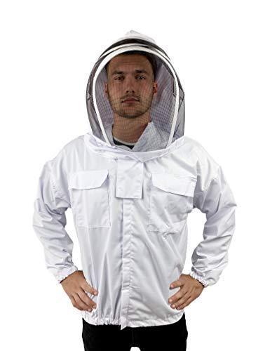 Amazon.com: Chaqueta de apicultura con velo de valla con ...