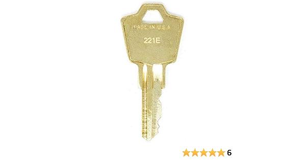 Hon Filing Cabinet Keys from Key Code HON101 2 Free Ship // Tracking HON225
