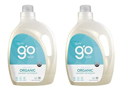 GO by GreenShield Organic、100オンス。 ベビー洗濯洗剤 - フリー&クリア B07GRNKM44  2