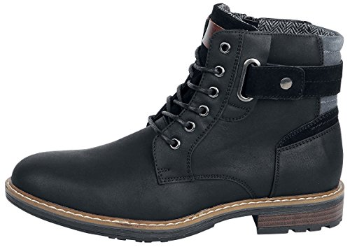 Refresh Amphibiens Boot Black / Bottes Noir Eu41