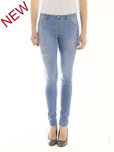Carrera Jeans Vaqueros Skinny para Mujer 510 - Luz Azul Lavado (Super Stone Wash)