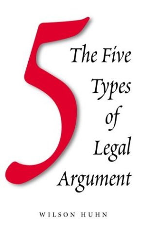 Five Types of Legal Arguments