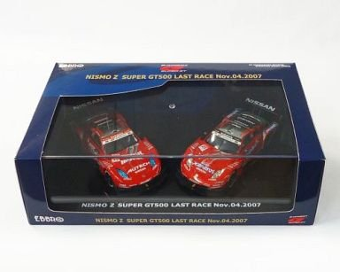1/43 NISMO Z SUPER GT500 LAST RACE Nov.04.2007 POTENZA #22&#23(レッド×ブラック) 2台セット 「GT ASSOCIATION OFFICIAL MINIATURE MODEL SERIES」