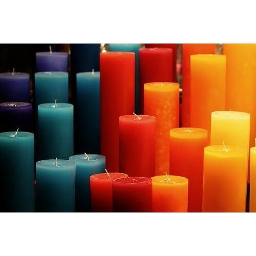 Colorant Pour Bougie pour bougie Création 10G Allez Couleur 1Kg De Wax - Turquoise