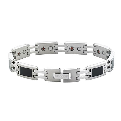 Nikken Unisex Classic Collection Stainless Steel Jewelry Bracelet