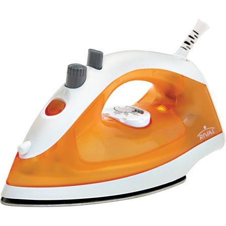 Mainstays Lightweight Iron Lightweight Steam Iron with Orange Water Tank (Griddle Toy compare prices)
