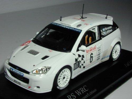 1/43 フォード フォーカス RS WRC 2003年 ラリー・モンテカルロ #6(ホワイト) 430 038906