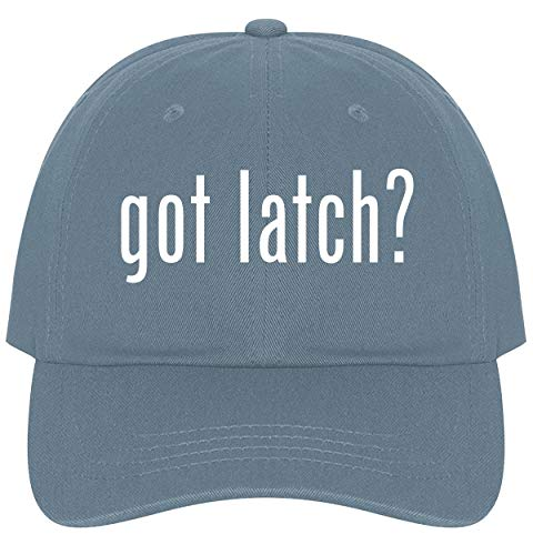 The Town Butler got Latch? - A Nice Comfortable Adjustable Dad Hat Cap, Light Blue ()