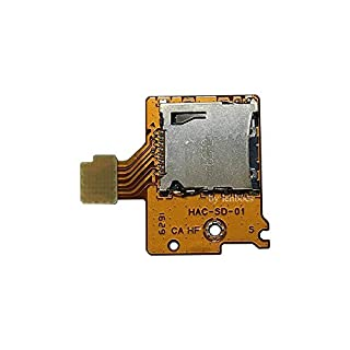 lenboes Original Micro TF SD Card Slot Replacement Repair Part for Nintendo Switch NS NX Console 2017