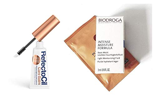 REFECTOCIL Care Balm .30oz Intensive Night Care With Castor Oil. Strengthens Brows & Lashes (2 FREE Hair & Skin Care Samples)