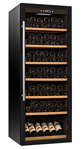 Walcut Wine Refrigerator Glass Door Wine Cooler Large Capacity 120-129 Bottles (Large Capacity Wine Cooler compare prices)