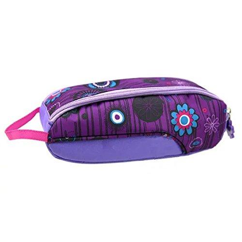 Brendacosmetic Printed Waterproof oxford cloth Travel Cosmetic bag ,Portable Organize bag wash bag Cosmetic Pouch Handbag for Women