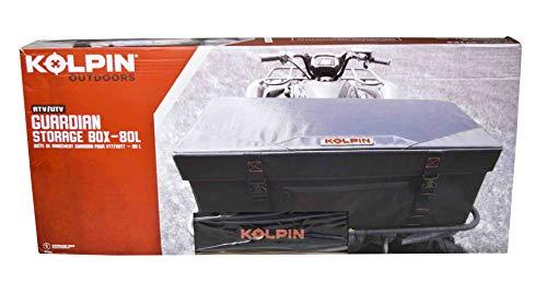 Kolpin 91162 Guardian ATV/UTV Semi Rigid Storage Box Water & Dust Resistant (80L)