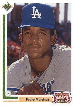 1991 Upper Deck Final Edition #2F Pedro Martinez Baseball Rookie ()