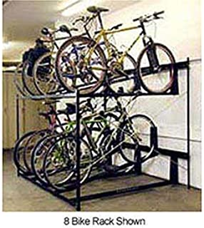 product image for 6-Bike Rack Double Decker, Non-Locking