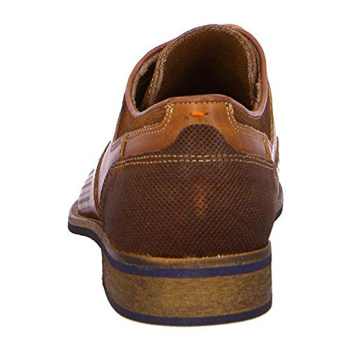 BULLBOXER 571K25935ADTGY - Zapatos de cordones de Piel para hombre Marrón - dtco