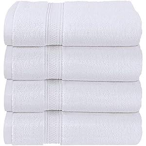 Qrity 100/% algod/ón Toallas de bebe y Toallas para ni/ños 3 paquetes, 25 x 50 cm Juego de toallas de ba/ño