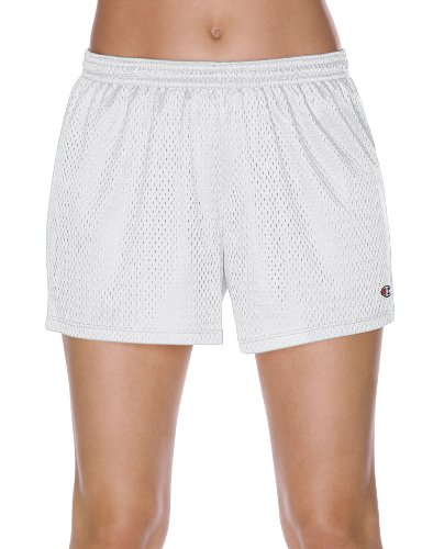 champion mesh shorts white - 2