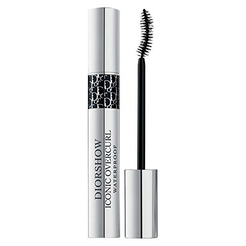 (Dior Diorshow Iconic Overcurl Waterproof Mascara 091 Black - Pack of 2)