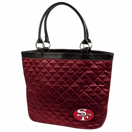 San Francisco 49ers Diamond (NFL San Francisco 49ers Quilted Tote)